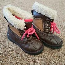 Toddler Boy Boots Size 9 Brown Boots Boy Baby Gap Footwear  Photo