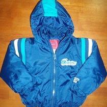 Toddler Boy's Medium Weight Dolphin's Jacket  Size 3t  Ln Photo