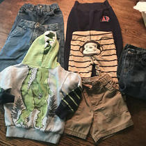 Toddler Boys 18 Months Lot Jeans Pants Hoodie Sonoma Gap Carters Photo