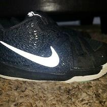 Toddler Boys Nike Kyrie 3 Td Black Slip on Sneakers Size 7 C  Eur 23.5 Photo