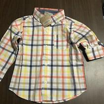 Toddler Boys Plaid Button Down Shirt Baby Gap Crazy 8 2t New With Tags Photo