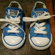 Toddler Converse Low Tops Size 6 Photo