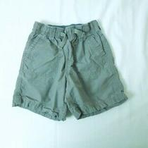 Toddler Girl Baby Gap Bermuda Gray Shorts  Elastic Waist Size 18-24 Months Photo
