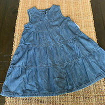 Toddler Girl Gap Denim Jean Romper One Piece Outfit Sz 5  New Photo
