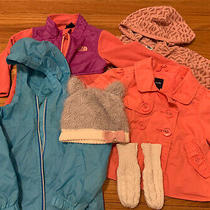 Toddler Girl Lot Coat Raincoat Fleeces 12-18 Months North Face Ll Bean Baby Gap Photo