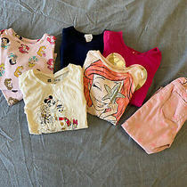 Toddler Girl Lot of 7 Items Size 3t Baby Gap & Crewcuts Photo