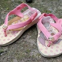Toddler Girl's Havianas Baby Disney Lady and the Tramp Flip Flops Size 8 Photo