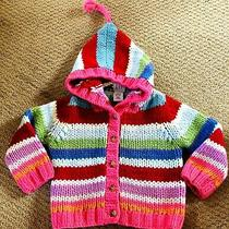 Toddler Girl Sweater Coat Size 2/2t Baby Gap  Photo