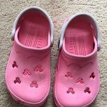 Toddler Girls Mickey Mouse Crocs - 8/9 Photo