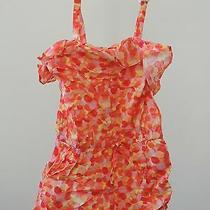 Toddler Girls Size 4 Years 1 Pc  Baby Gap  Water Color Romper Nwt T-13 Shorts Photo
