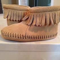 Toddler Minnetonka Moccasins Size 3 New in Box Photo
