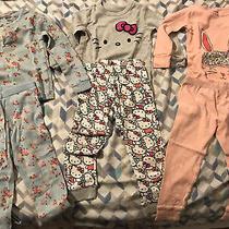 Toddler Pajamas Set 12 Pieces Gap Carters Venait Size 18m 24m 2t Hello Kitty Photo