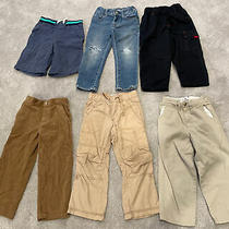 Toddler Pants Lot 3t Jeans Khakis Corduroy Great Condition Gap Old Navy Photo