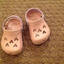 Toddler Pink Disney Crocs 2-3 Photo