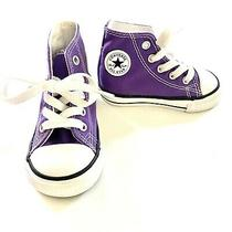 Toddler Purple Converse All Star Size 5 Photo