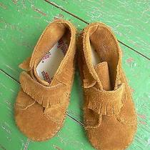 Toddler Size 5 Minnetonka Brand Moccasins Photo