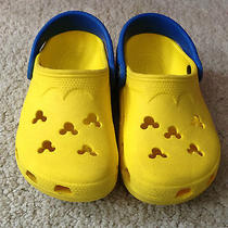 Toddler Size 8/9 Yellow Mickey Mouse Crocs  Please Read Photo