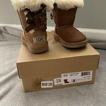 Toddler Ugg Girl's Bailey Bow Boots 8 Photo