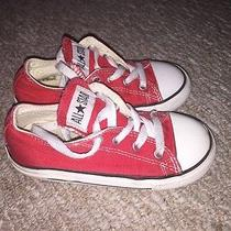 Toddler Unisex Low Top Converse Size 9 Photo