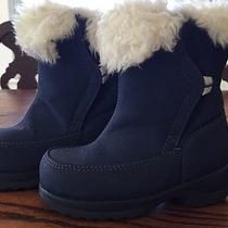 Toddlergirl Navy Lands'end Winter Boots Photo
