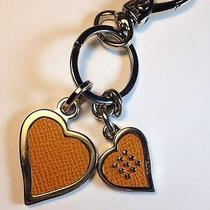 Tods Keychain With Hearts Photo