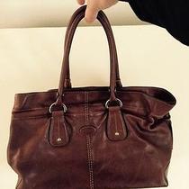 Tods Leather Handbag Brown Photo