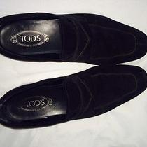 Tods Mens Suede Loafers Photo