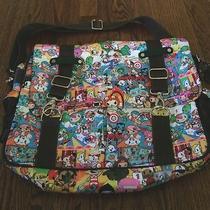 Tokidoki by Lesportsac Carnival Messenger Laptop Diaper Crossbody Bag Excellent Photo
