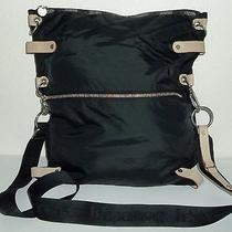 Tokidoki for Lesportsac Large Black Nylon Crossbody Messenger Bag Big Purse  Photo