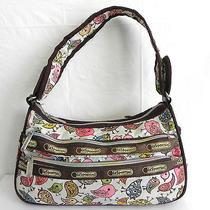 Tokidoki for Lesportsac Shoulder/hobo Bag  Multicolor Flower Spring Bird Prints  Photo