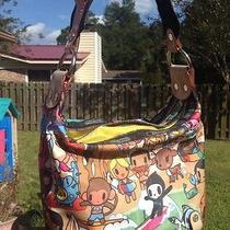Tokidoki Lesportsac Multi-Color Shoulder Bag Handbag Purse Great Bag Photo