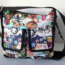 Tokidoki Lesportsac Vacanze Avventura Crossbody Retired Rare Winter Photo