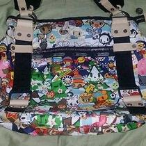 Tokidoki Lesportsac Vacanze Zucca Carezza Hobo Bag Rare Photo
