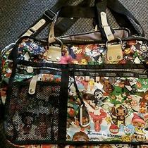 Tokidoki X Lesportsac Season Rare Messenger Laptop Computer Travel Bag Tote Euc Photo