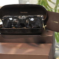 Tom Ford 198 Campbell Sunglasses Color 01a Size 53-22-145 -New-With Tag Photo