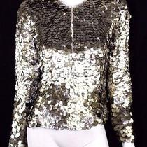 Tom Ford 9880 Spring 2011 Runway Mother of Pearl Paillette Jacket 44 Photo