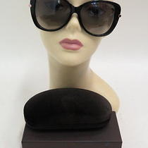 Tom Ford Linda Butterfly Sunglasses Black/rose Gold 380 New Without Tags Photo