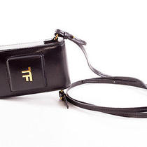 Tom Ford New Small Black Leather