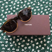 Tom Ford Newman Sunglasses Tf515 Tortoise Polarized Brown Half Tan Gold Unisex Photo