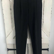 Tom Ford Nwt Designer  Black Pants Straight Leg Size 40 Us 4 Photo