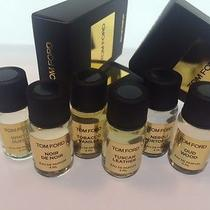 Tom Ford Private Blend Essentials Lot Oud Wood Tobacco Vanille Tuscan Leather- Photo