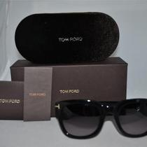 Tom Ford Sunglasses  Tom Ford Campbell Tf198 01b Black  Brand New Authentic Photo