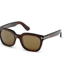 Tom Ford Sunglassse Tf 198 56j - Havana/other / Roviex Campell Tf198-56j Photo