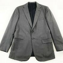 Tom James Royal Classic X Holland and Sherry Custom Blazer Sport Coat Gray 40r Photo