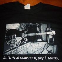 Tom Petty Sell Your Computer Buy a Guitar T-Shirt Medium New Photo
