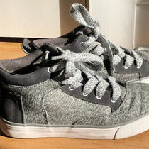Toms Womens Shoes Camila High Gray Suede Textile Sneakers Size 6 Photo