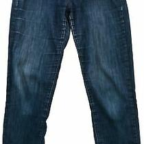 Tom Tailor Women's Denim Jeans Straight Blue Cotton Pocket Button Zip Size 31/30 Photo