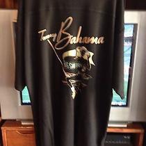 Tommy Bahama Big Shot Drive in Black Polo Shirt - Xl - Minimal Wear  Photo