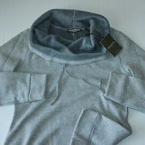 Tommy Bahama Cowley Knit Pullover Sweater Reversible Fossil Grey New S Small Photo