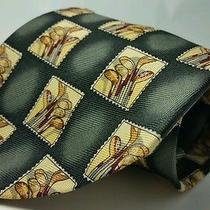 Tommy Bahama Golf Clubs 100% Silk Tie Mens 59